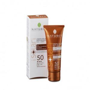 Crema Gel Viso Solare Antirughe SPF50 – 50 ml
